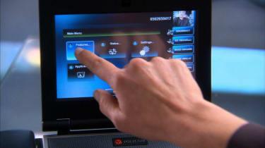 Polycom VVX 1500 touch