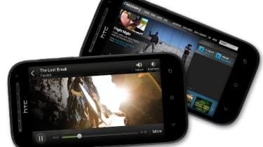 HTC One SV - Display
