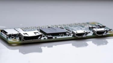 An image of the Raspberry Pi Zero