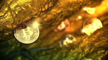 Bitcoin cryptocurrency mining