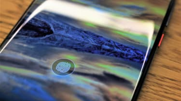 Huawei Mate 20 Pro fingerprint reader