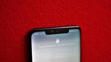 Huawei Mate 20 Pro front camera