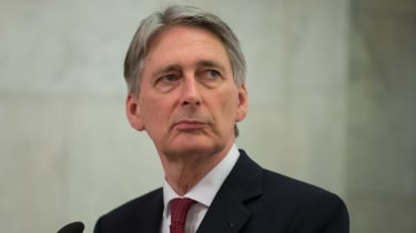 Chancellor of the Exchequer Philip Hammond MP