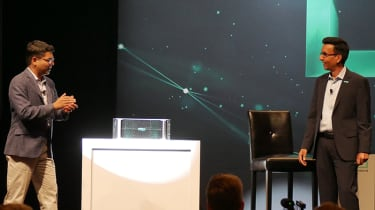 Primera storage appliance press reveal at HPE Discover 2019