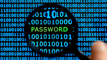 The word password among code
