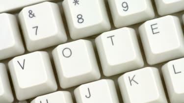 Vote on keys on keyboard