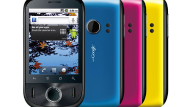 The Huawei IDEOS Android 2.2 budget smartphone