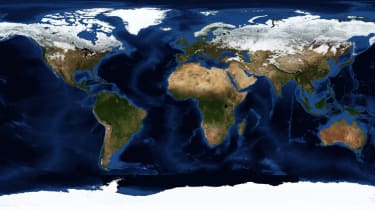 NASA photo of the world