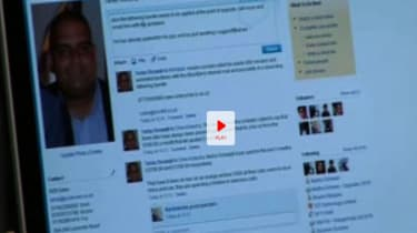 Social networking in business video screen grab