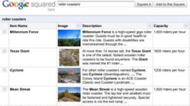 Google Squared