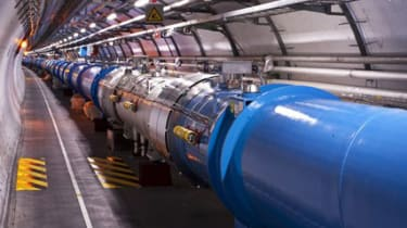 LHC tunnel at CERN