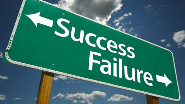 success/failure sign