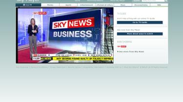 Sky Player live streaming Sky News