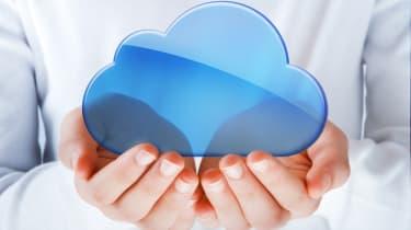 cloud in hands