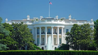 The White House is the daytime