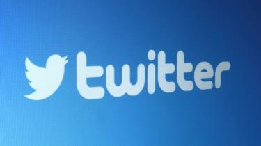 Blue Twitter banner