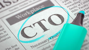 The acronym 'CTO' in a newspaper, circled in blue highlighter