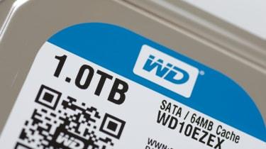 A Western Digital drive