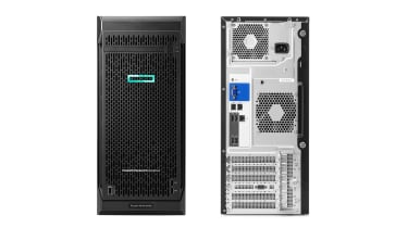 HPE ProLiant ML110 Gen10 front and back