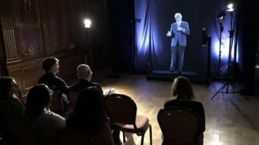 Hologram lecturer at Imperial College