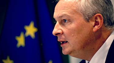 Bruno Le Maire, French minister speaking to EU