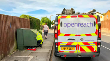 Openreach telecoms maintenance