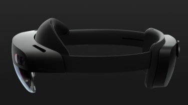 The HoloLens 2 device