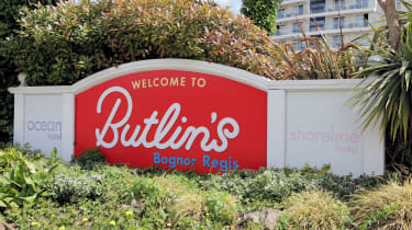 Butlins Bognor Regis welcome sign