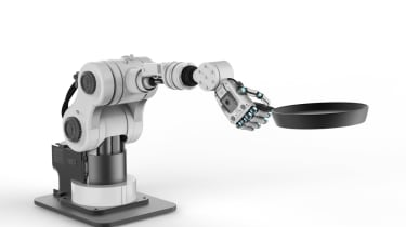 Robotic chefing arm