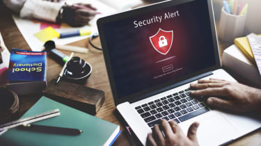 A user browsing the internet comes across a security alert