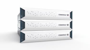 Concept of Commvault's higher-tier HyperScale appliance for enterprises