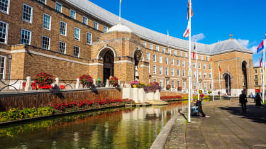The Bristol City Hall