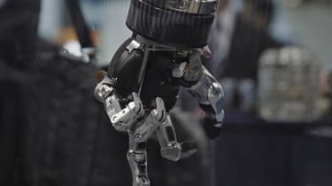 Robotic hand from the documentary The Truth About Killer Robots
