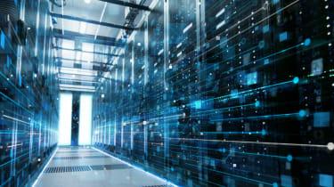 Image of Intel Optane data centre