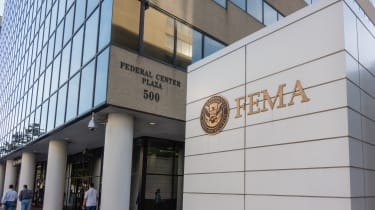 Outside shot of FEMA headquarters