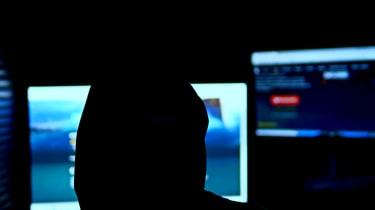 A depiction of a hacker