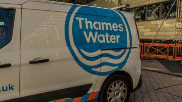 Thames Water van