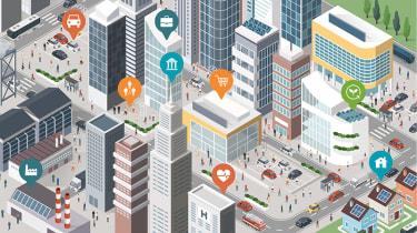 Smart city concept - smart cities