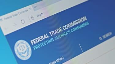 FTC website home screen and logo
