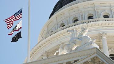 An image of California's legislature