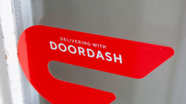 DoorDash sign