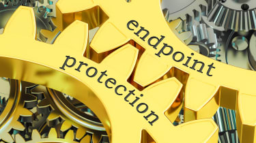 Endpoint protection or endpoint security interlocking gears