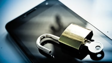 Mobile phone security image