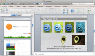 Microsoft PowerPoint 2011 for Mac
