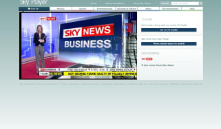 Sky Player live streaming Sky News