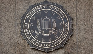 FBI, DOJ badge on a crest