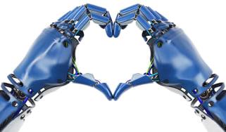 AI making a heart shape