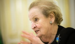 Former US secretary of state Madeleine Albright
