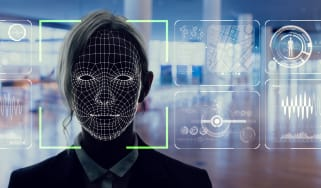 Image depicting facial recognition