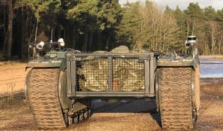 British Army robot